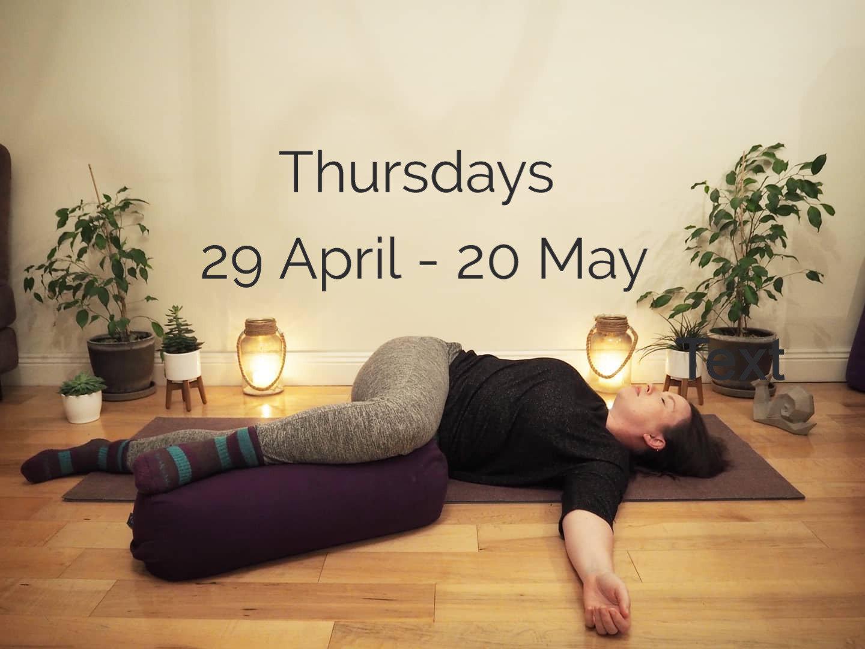 Thursday 4 Week Online Yin Course