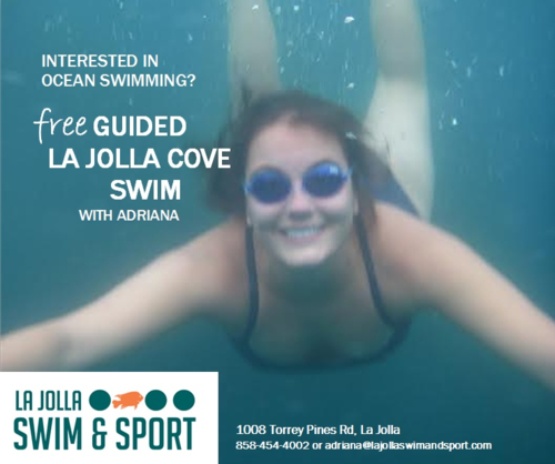 Instagram template for LaJolla Swim and Sport