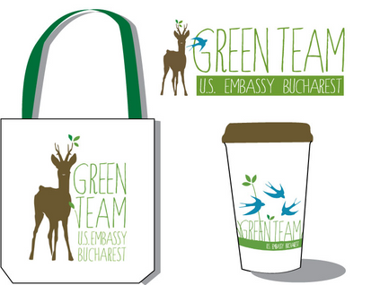 Green Team Logo and Applications