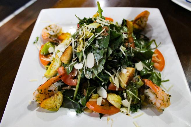 Shaved Greens Salad
