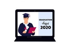 Consejos para celebrar tu ceremonia de graduación en Zoom