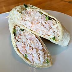 Shrimp Kelaguen Wrap
