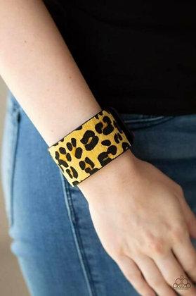 Cheetah Cabana - Yellow
