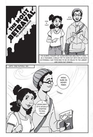 The Moist Betrayal page 1