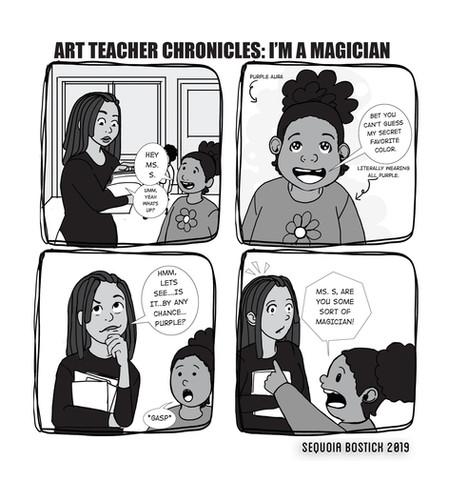 Art Teacher Chronicles: I'm a magician