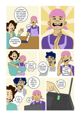 Wigs for kids comic pg 2