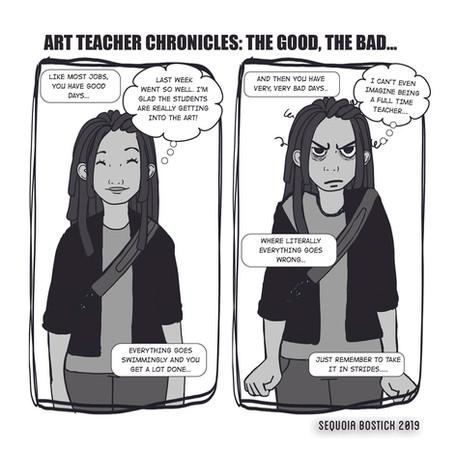 Art Teacher Chronicles: The Good, The Bad...
