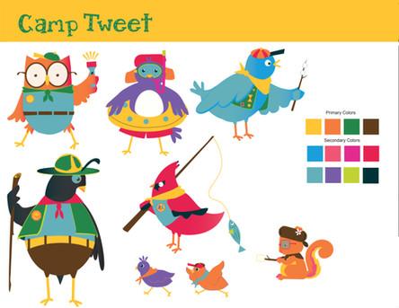 Camp Tweet Style Guide
