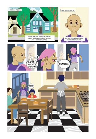 Wigs for kids comic pg 1