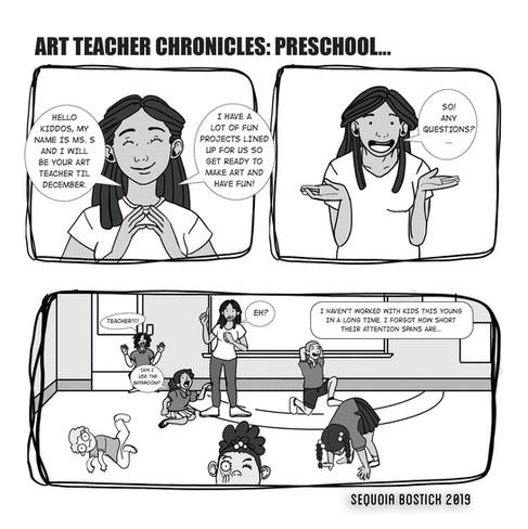 Art Teacher Chronicles: Preschool