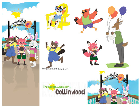 Scoop on Summer in Collinwood