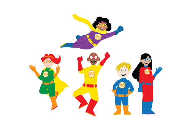 Wigs for kids Characters