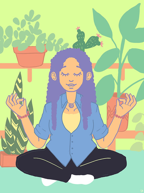 Plant Zen Print