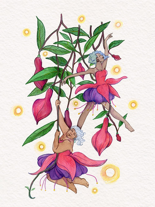 Fuchsia Fae print