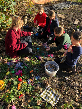 Y5 Forest School: Among Us in The Woods