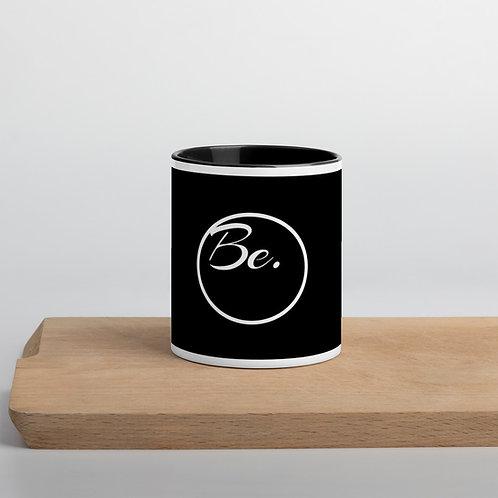 BE mug
