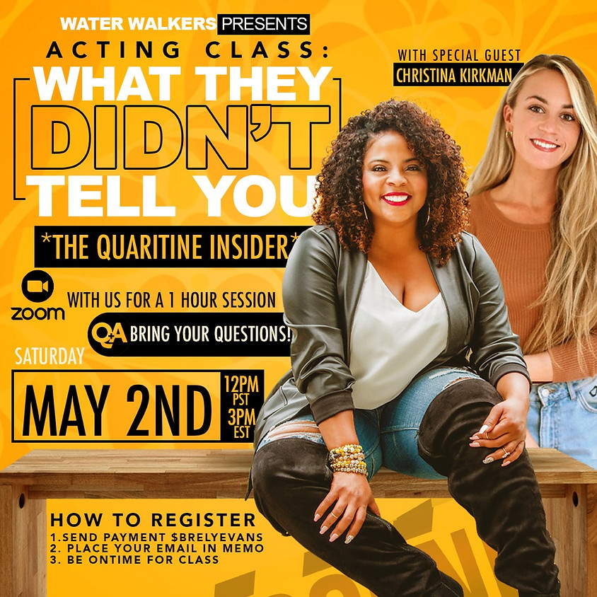Acting Class: Insider Secrets for the Beginners/Seasoned/Parents of Young Stars