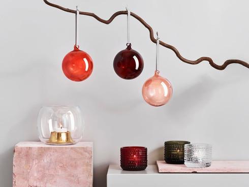 Christmas balls, Iittala