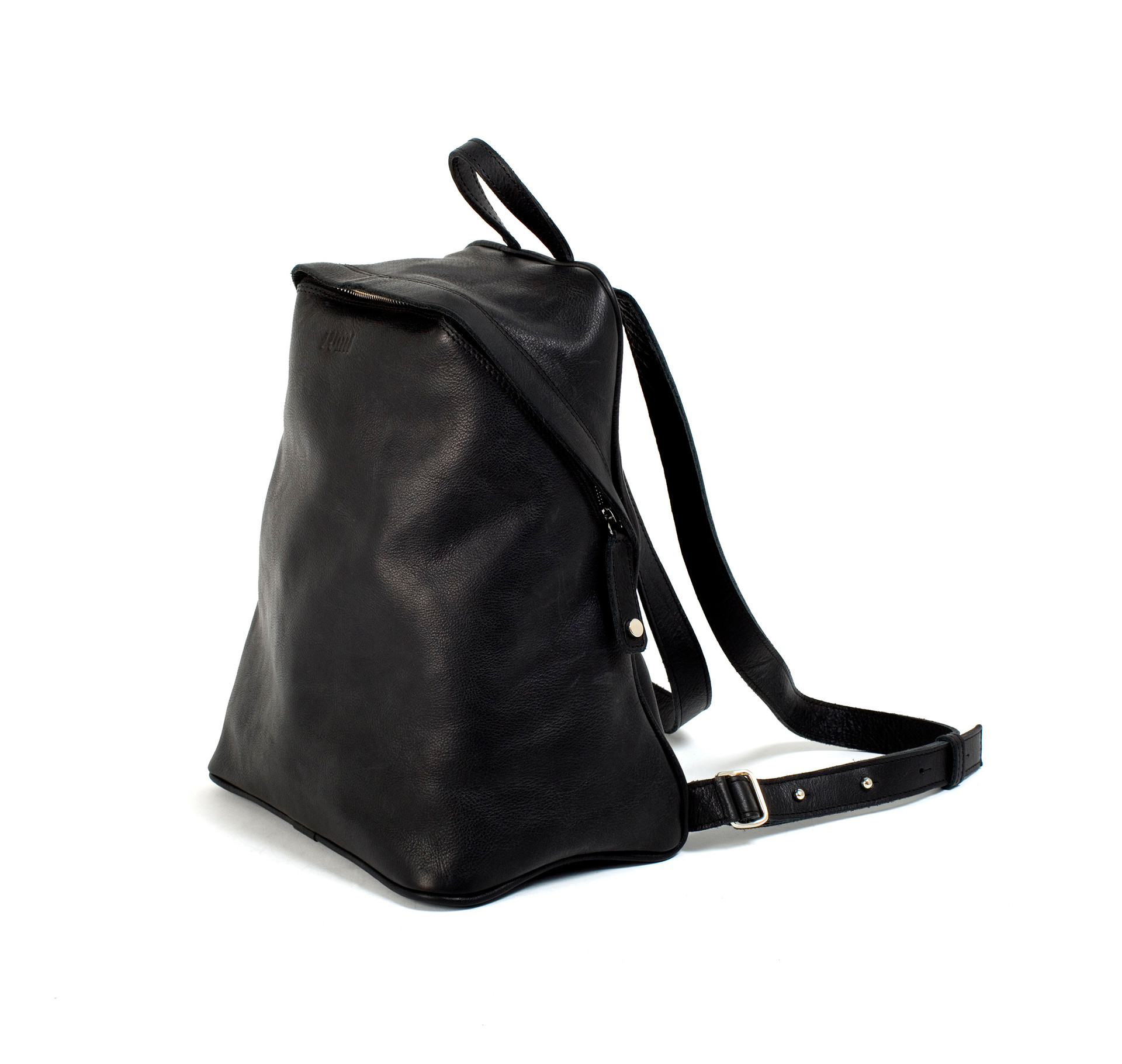 It is a unisex backpack with an adjustable strap and solid shape. It is made with thick and luxurious veg tan leather.