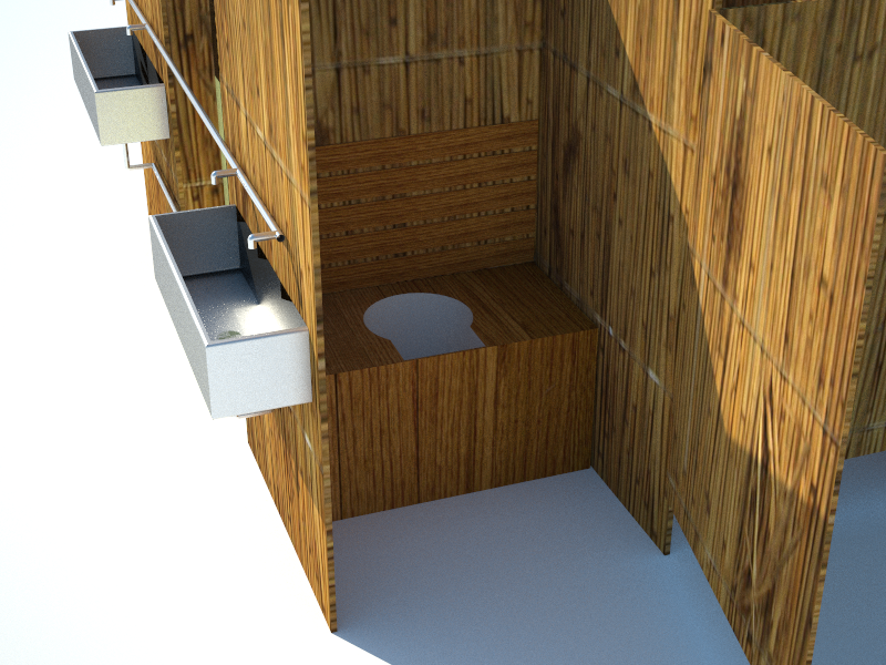 Detailed view of the toilet interior.