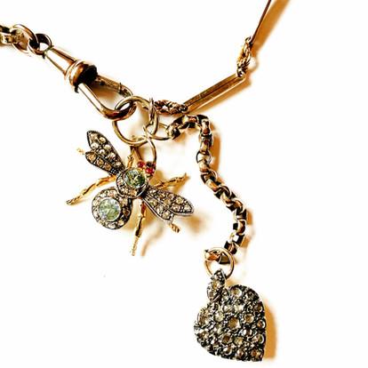Diamond Bug Diamond Heart