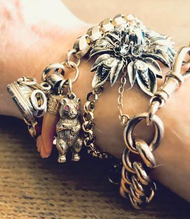Antique Bracelet Stack