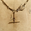 Thumbnail: Antique Gold Watch Chain, Victorian Diamond, Pearl Ruby Swallow Necklace