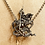 Thumbnail: Spectacular Vintage  Silver & Marcasite 'St George and Dragon'  Necklace