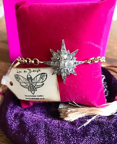 Stunning Victorian Starburst Bracelet