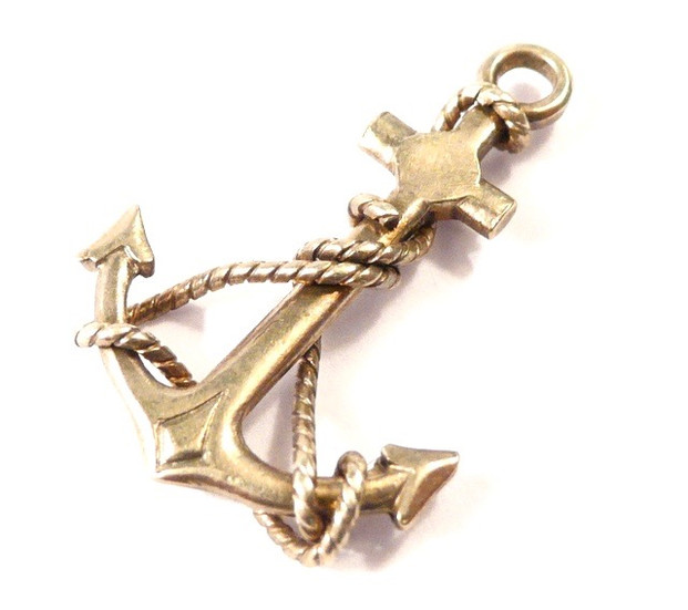 Anchor with rope 10GBP 2