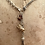 Thumbnail: Silver Antique Albertina, Vintage Charms and Curios Hare, Bunny, Pansy Necklace
