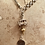 Thumbnail: Vintage Silver & 9ct Gold Multi Chains, Vintage Ice Cream Charm  Necklace