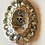 Thumbnail: Antique Silver Watch Chain, Georgian Buckle, Skull Necklace