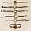 Thumbnail: Antique Albert Fob Watch Chain Bracelet