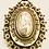 Thumbnail: Victorian Antique Fancy Silver Locket & Book Chain