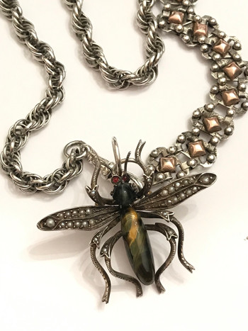 Bold & Beautiful Victorian Insect Bug