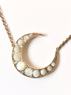 Moonstone Crescent Moon