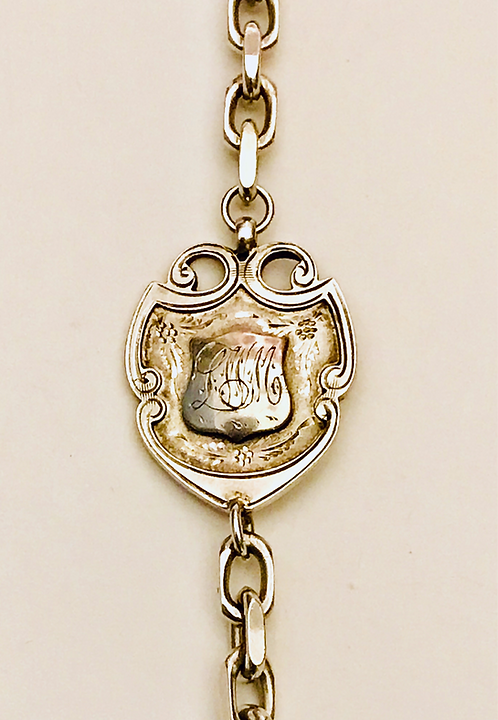 Antique Albert Fob Bracelet