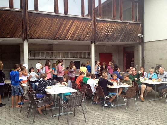 Klassenlager in der Schweiz