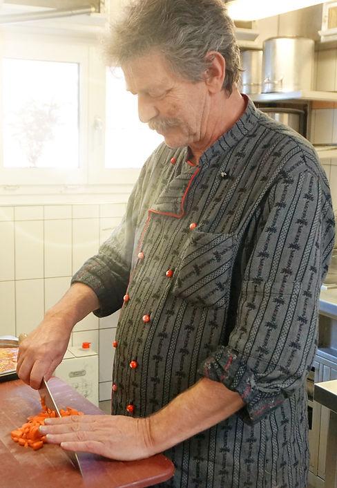 Robert Habegger - Küchenchef Restaurant Schönegg in Hausen am Albis
