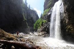 Wasserfall Chessiloch Flühli