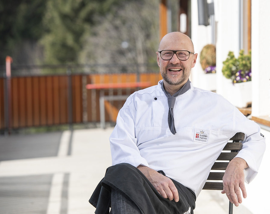 Ernst Wegmüller, Gastgeber im Berggasthaus Salwideli in der Schweiz