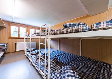 Massenlager im Lagerhaus Salwideli in der Schweiz