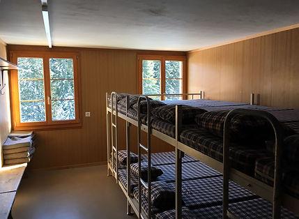 Gruppenhaus für Skilager in der Schweiz