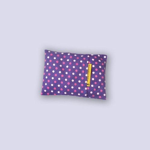Traubenkernkissen für Babys violett