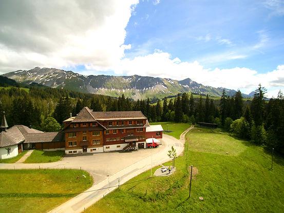 Berggasthaus in der Schweiz