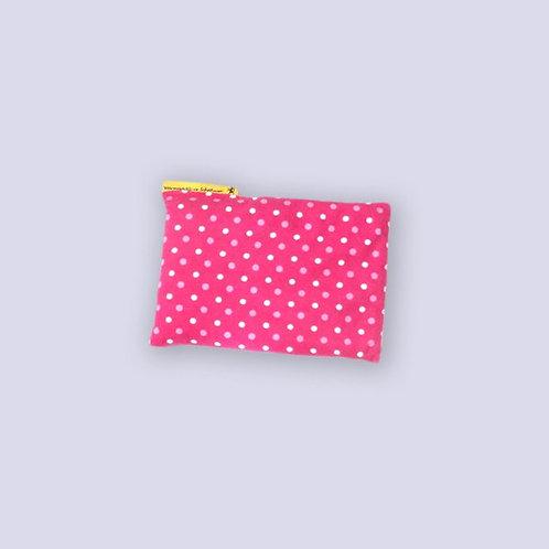 Traubenkernkissen für Babys pink