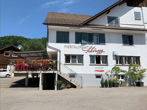 Restaurant Schönegg in Hausen am Albis - Aussenansicht