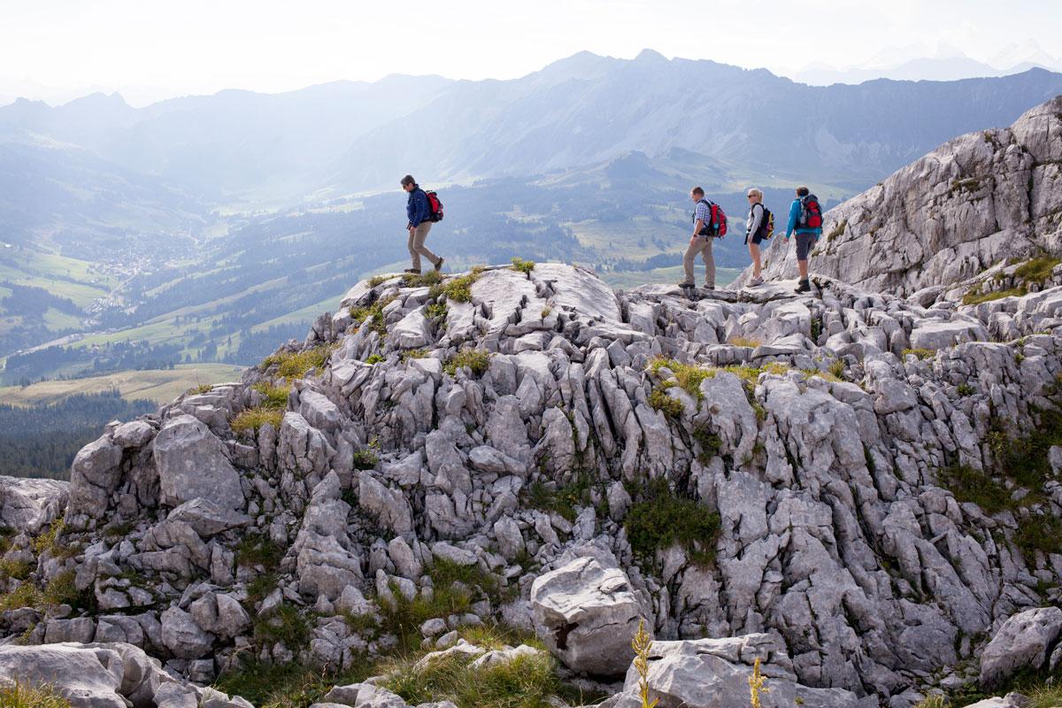 Wandern Schrattenfluh Karst