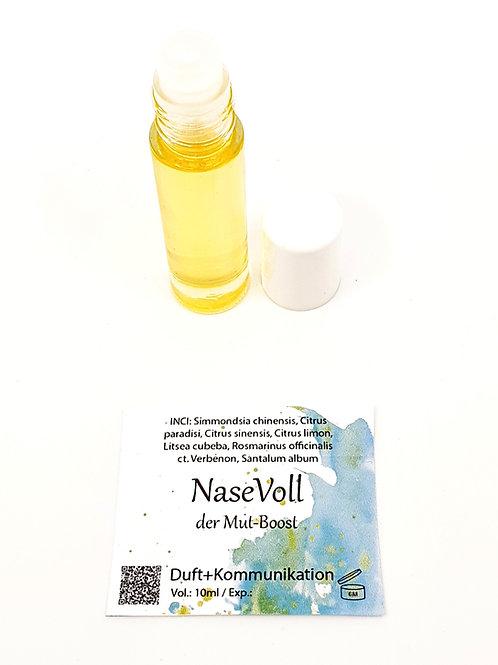 Ätherische Ölmischung Nase Voll um mutig zu werden